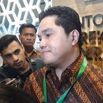 Erick Thohir Bungkam ketika Ditanya Korupsi Jiwasraya