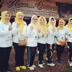 MTP IPHI Lampung Ramaikan Launching Senam Lampung Berjaya