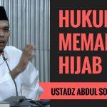 Jilbab Tidak Wajib? Ini Kata Ustadz Abdul Somad