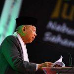 Ma'ruf Amin: Ada 4 Syarat untuk Percepatan Ekonomi Syariah