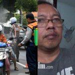 Pembuluh Darah Mata Pecah Diduga Akibat Semprotan Disinfektan di Surabaya
