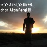 Bangun Ya Akhi, Ya Ukhti. Ramadhan Akan Pergi !!!