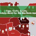 Happy, Healthy, Wealthy : Surabaya Merah Tua, Kita Bisa Bantu Apa?