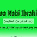 Doa Nabi Ibrahim Agar Anak Cucunya Ahli Ibadah