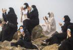 Berdoa di padang Arafah