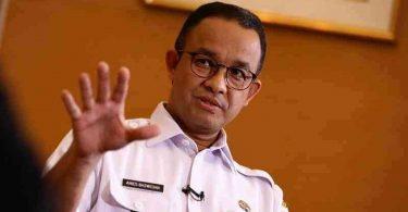 gubernur anies baswedan tetap berlakukan PSBB ketat