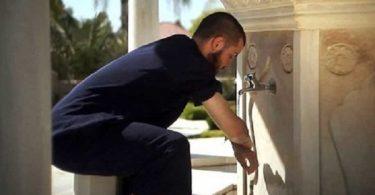 Cuci tangan yang benar saat berwudhu