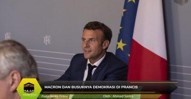 Macron dan Busuknya Demokrasi di Prancis