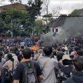 mahasiswa bandung unjuk rasa