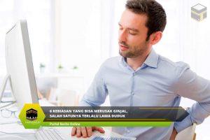 6 Kebiasan yang Bisa Merusak Ginjal, Salah Satunya Terlalu Lama Duduk