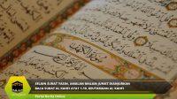 Amalan Malam Jumat Dianjurkan Baca Surat Al Kahfi Ayat 1-10