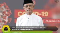 Haedar Nashir: Moderasi sudah melekat dalam sejarah Islam dan Indonesia