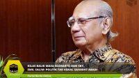 Kilas Balik Masa Soeharto dan SBY, Emil Salim: Politik Tak Kenal Sahabat Abadi