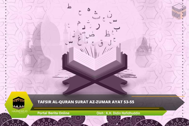 Tafsir Al-Quran Surat Az-Zumar Ayat 53-55