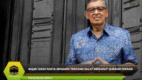 Wajib Tahu! Fakta Menarik Tentang Salat Menurut Quraish Shihab