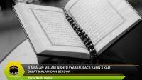 3 Amalan Malam Nishfu Syaban