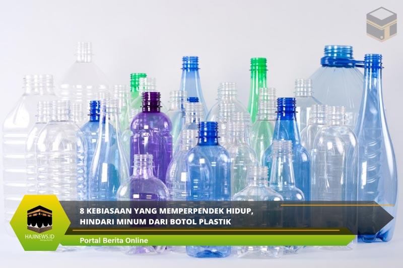 8 Kebiasaan yang Memperpendek Hidup, Hindari Minum dari Botol Plastik