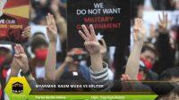 MYANMAR: KAUM MUDA vs MILITER