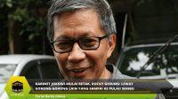 Kabinet Jokowi Mulai Retak Rocky Gerung: Lewat Gorong-gorong Lain