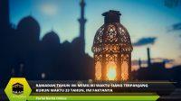 Ramadan Tahun Ini Memiliki Waktu Siang Terpanjang Kurun Waktu 33 Tahun