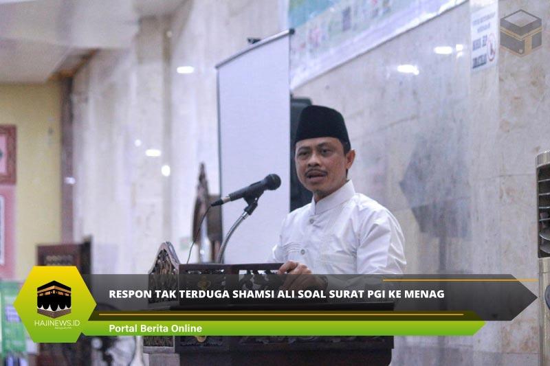 Respon Tak Terduga Shamsi Ali Soal Surat PGI ke Menag