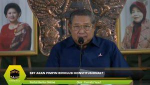 SBY Akan Pimpin Revolusi Konstitusional?