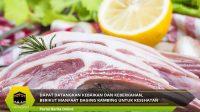 Berikut Manfaat Daging Kambing untuk Kesehatan