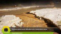 Gurun Arab Saudi Berubah Jadi Hamparan Salju