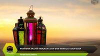 Ramadan, Bulan Menjaga Lisan dan Mencuci Dosa-dosa