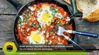 Resep Mudah Olahan Telur untuk Makan Sahur, Telur Dadar Paling Gampang