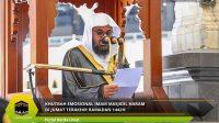 Khutbah Emosional Imam Masjidil Haram di Jumat Terakhir Ramadan 1442H