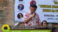 Menggugat Presiden Dan DPR RI Di Pengadilan Adalah Tindakan Legal Dan Konstitusional