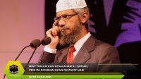Niat Tunjukkan Kesalahan Al Qur'an, Pria Ini Dipermalukan Dr Zakir Naik