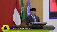 Din Syamsuddin: Tuduhan Radikal Bagian Dari Politik Kelompok Yang Takut Kebangkitan Islam