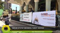Masjid Ditutup: Indonesia, Turkey Jilid Dua