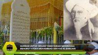 Qurban untuk Orang yang Sudah Meninggal Menurut Syekh Muhammad Arsyad Al Banjari