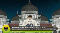 Pasang Foto Background Masjid Raya Aceh, Mesut Ozil Ucap Selamat HUT RI, Netizen: Hana Ubat Tgk Ozil