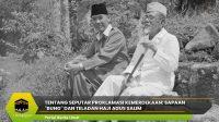 """Tentang Seputar Proklamasi Kemerdekaan: Sapaan """"Bung"""" dan Teladan Haji Agus Salim"""
