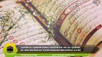 Tafsir Al-Quran Surat Ghafir 64-66: Al-Quran, Al-Bayan dan Al-Kaun adalah Anugerah Allah