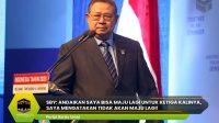 SBY: Andaikan Saya Bisa Maju Lagi untuk Ketiga Kalinya, Saya Mengatakan Tidak Akan Maju Lagi!