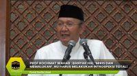 Prof Rochmat Wahab : Banyak Hal 'Miris dan Memalukan', NU Harus Melakukan Introspeksi Total!