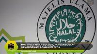 MUI: Ingat Pesan Gus Dur, Jangan Bosan Menghormati Agama Berbeda