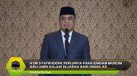 H Dr Syafruddin: Perlunya Para Ilmuan Muslim Gali Lebih Dalam Sejarah Nabi Ismail AS