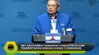 SBY: Saya Harap Demokrat Konsisten di Luar Pemerintahan Dengan Hormati Demokrasi