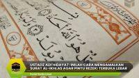 Ustadz Adi Hidayat: Inilah Cara Mengamalkan Surat al-ikhlas agar Pintu Rezeki Terbuka Lebar